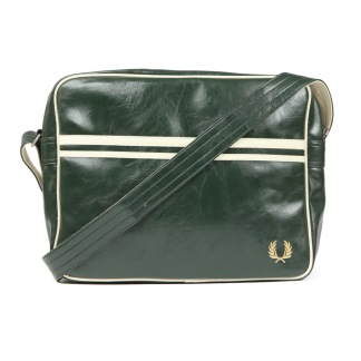 Fred Perry Classic Shoulder Bag Forest/Ecru - One size