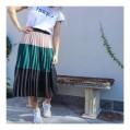 Neo Noir Tam Plisse Skirt
