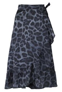 Neo Noir Mika Leo Wrap Skirt Leo - XL
