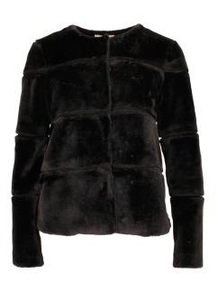 Neo Noir Kahla Faux Fur Jacket Svart - L
