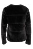 Neo Noir Kahla Faux Fur Jacket Svart