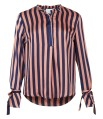 Neo Noir Arizona Broad Stripe Blouse