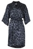 Neo Noir Kelsie Leo Kimono - One Size