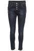 Chica London Jeans med zip i sidan - XL