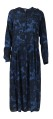 Neo Noir Nora Wave Dress Navy Camou print
