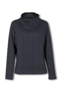 Suzanne Nilsson Cably Sweatie Blue - M