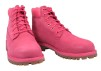 Timberland 6IN Premium Rose Red