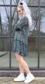 Neo Noir Abela Printed Dress