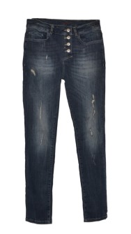 Bypias Perfect Fit Jeans Dark Denim - Strl M