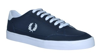 Fred Perry Deuce Leather Navy - 44