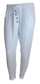 ByPias Bamboo Button Joggers - Storlek XL