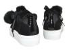 Billi Bi Sneaker med fejkpälsbollar