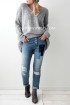 Bypias Patchwork Jeans