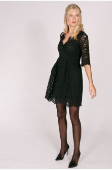 Pernilla Wahlgren Alcina Lace Dress Svart - XS