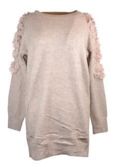 Chica London Stickad tröja med blommor - One size