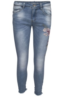 Chica London Broderade Jeans - Storlek XS