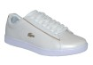 Lacoste Carnaby EVO White/Gold - Strl 40