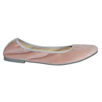 Tamaris Ballerina Sammet Rosa - Storlek 37