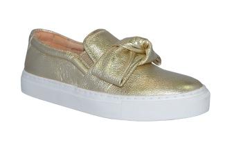 Billi Bi Sport 104 Sneaker Rosett Guld - Storlek 38
