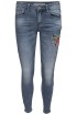 Chica London Broderade Jeans Skinny - M