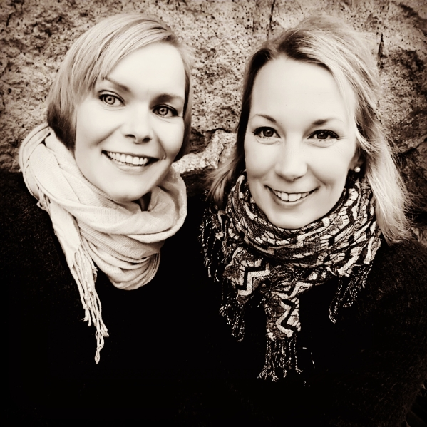 Anna och Caroline
