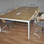 Komplett konferensgrupp med 8 stolar Begagnade konferensmöbler Designmöbler Kontorsmöbler (3)