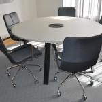 Rund Konferensgrupp Swedese Kite & Edsbyn Piece begagnade konferensmöbler