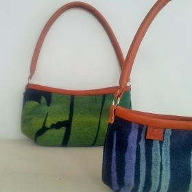 """""""Aurora Borealis""""  Handväska / Handbag"""