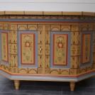 Pöyttäkappi Tornedalskt allmogeskåp / Torne Valley folk art cabinet