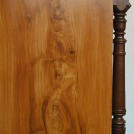 Ådringslasering valnötsrot / Wood grain painting in Walnut root