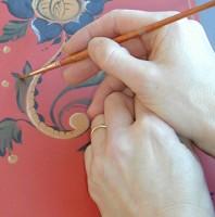 Frihandsmålning/ Free hand painting