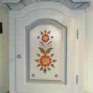 Väggskåp  allmoge med fantasimarmor / Wall cabinet