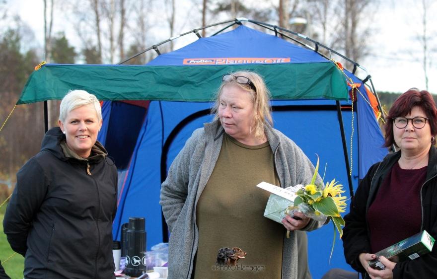 Linda Fahlen Jakobsson, Evalis Johansson och Helena Sandström