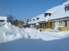 Så här mycket snö hade vi i februari 2010