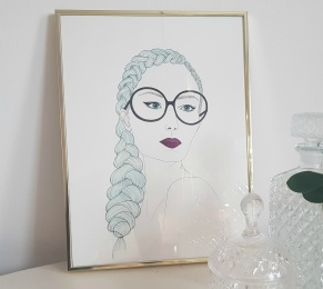 Woman with glasses - woman with glasses