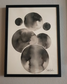 Circles in black and white 3 -