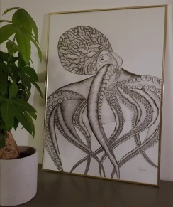 octopus - octopus 50*70
