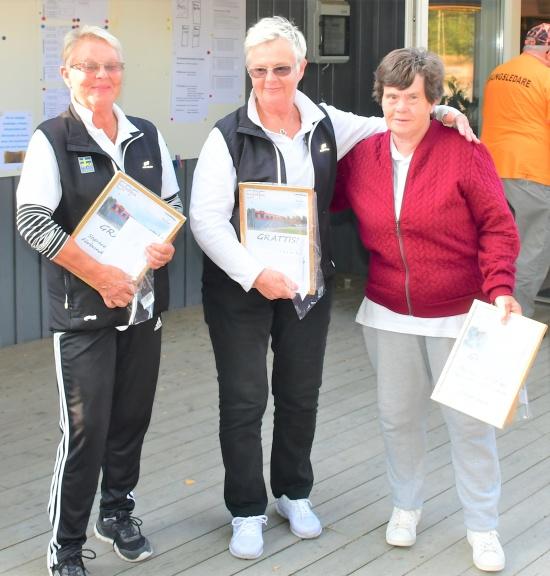 Det segrande laget i damklassen kommer från Blåelden Slite - Gotland.