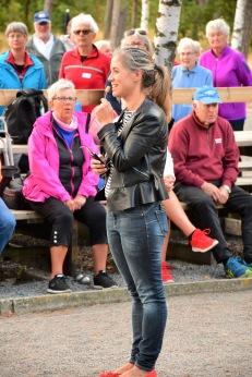 Mästerskapet invigdes av Georgia Ferris (kd), som är ordförande för Falkenbergs kultur-, fritids- och tekniknämnd.