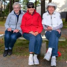 """Förbundsmästerskapet har funnits i 21 år och bland deltagarna finns det naturligtvis riktiga """"veteraner"""". Ett av dessa lag är Signe Frisk, Iris Granlund och Gun Johansson från Åmåliterna."""
