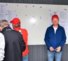 Bengt Johansson svarade för att resultaten blev noggrant bokförda.