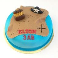 Elton 3år, pirat