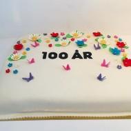 100års tårta