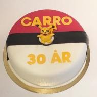 Carro 30år, pokémon