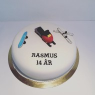 Rasmus 14år, skoter skidor snowboard