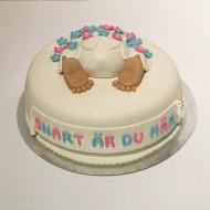 Babyshower tårta, Maria