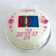 Dop Signe, samiskflagga