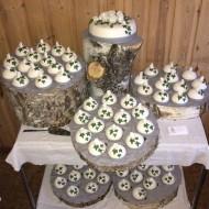 Bröllop, en enkel 50 bakelser
