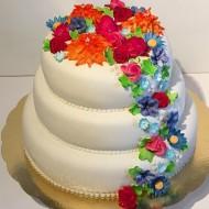 Bröllop, flowerbomb