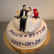 Bröllop, skoter